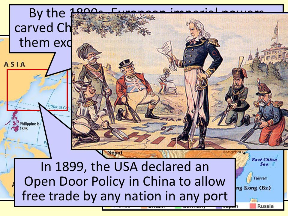 an analysis of american imperialism and the open door policy Foreign imperialism in china dates back to the 16th century - however the 1800s   us diplomats negotiated an 'open door policy' for american trade in china.