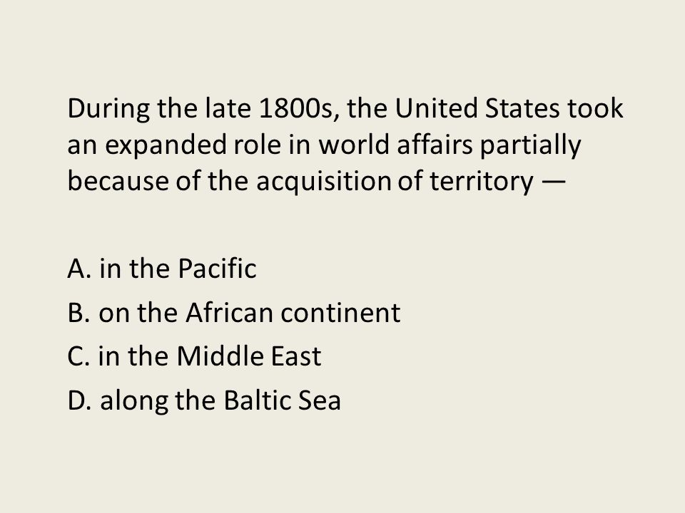 an overview of the united states foreign policy in the late 1800s What follows is an overview of the major pieces until the late 1800s, the united states had a nearly completely open immigration policy individual states.