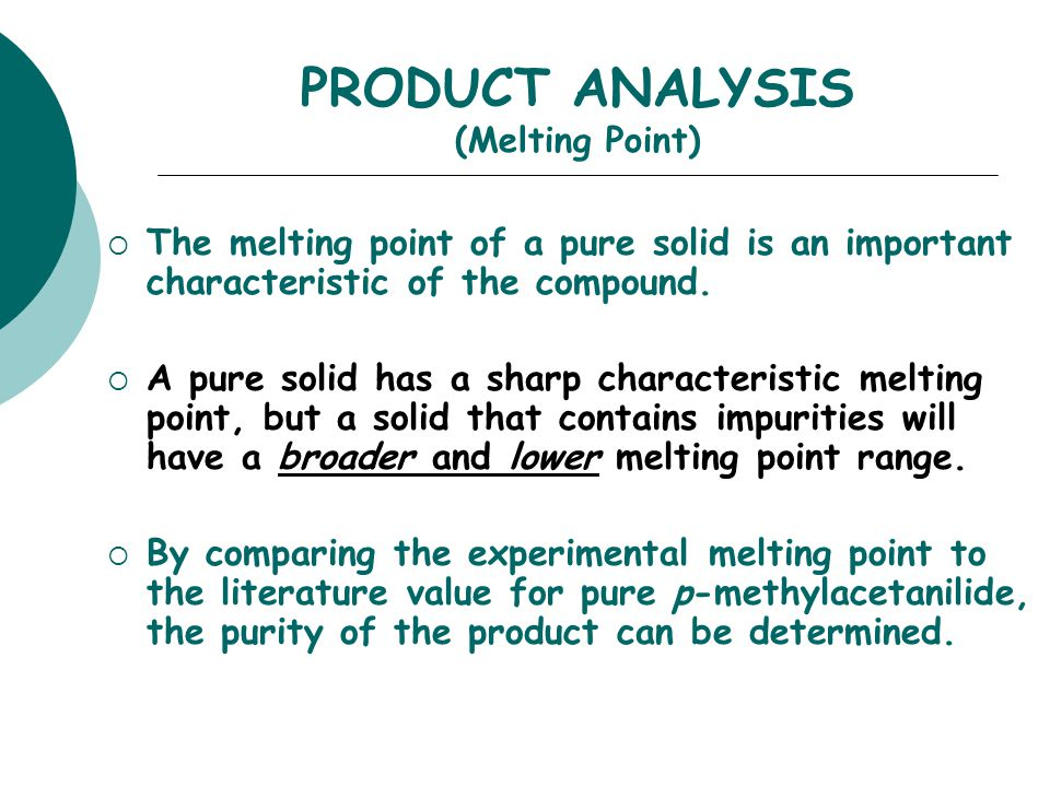 the melting point analysis of crude Understanding the fundamental characteristics that define the nature of asphaltenes and waxes is the experimental method used to determine the weight fractions of these groups is called sara analysis increasing the temperature of the commercial waxes to their melting points of 55 to.