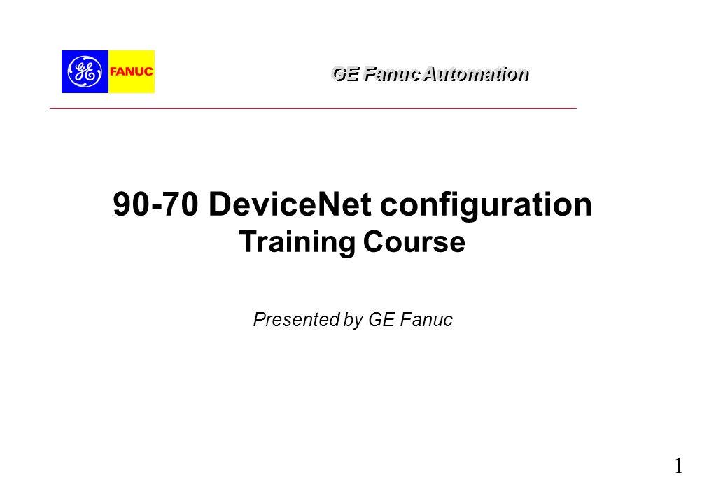 90-70 DeviceNet configuration