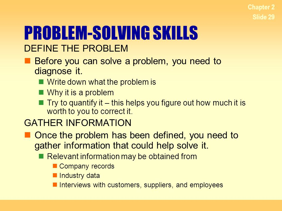 problem solving skills images