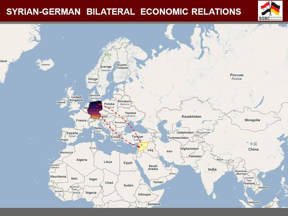 Syrian-German Bilateral Economic relations