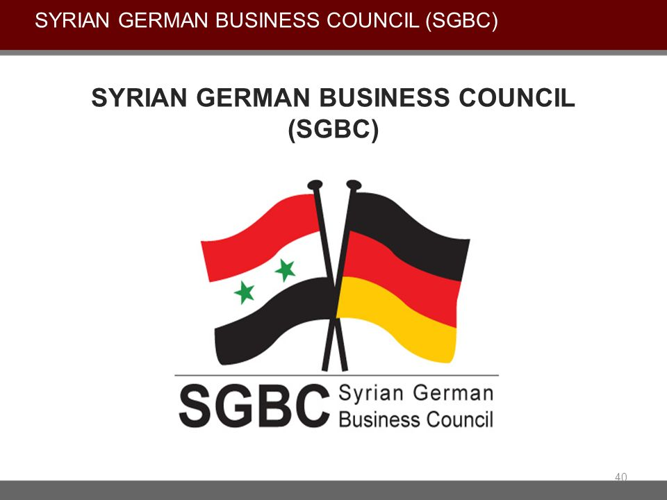 Syrian German business council