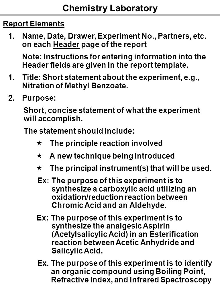 laboratory report on esterification Ester synthesis lab report daniela lozano loading need to report the video fischer esterification mechanism - duration:.