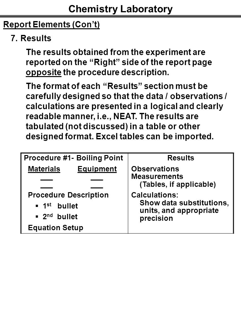 lab report determination of boiling point This is a brief intro to the boiling point lab  sign in to report inappropriate content  micro boiling point determination - duration: 4:47 kyle t 10,246 views.