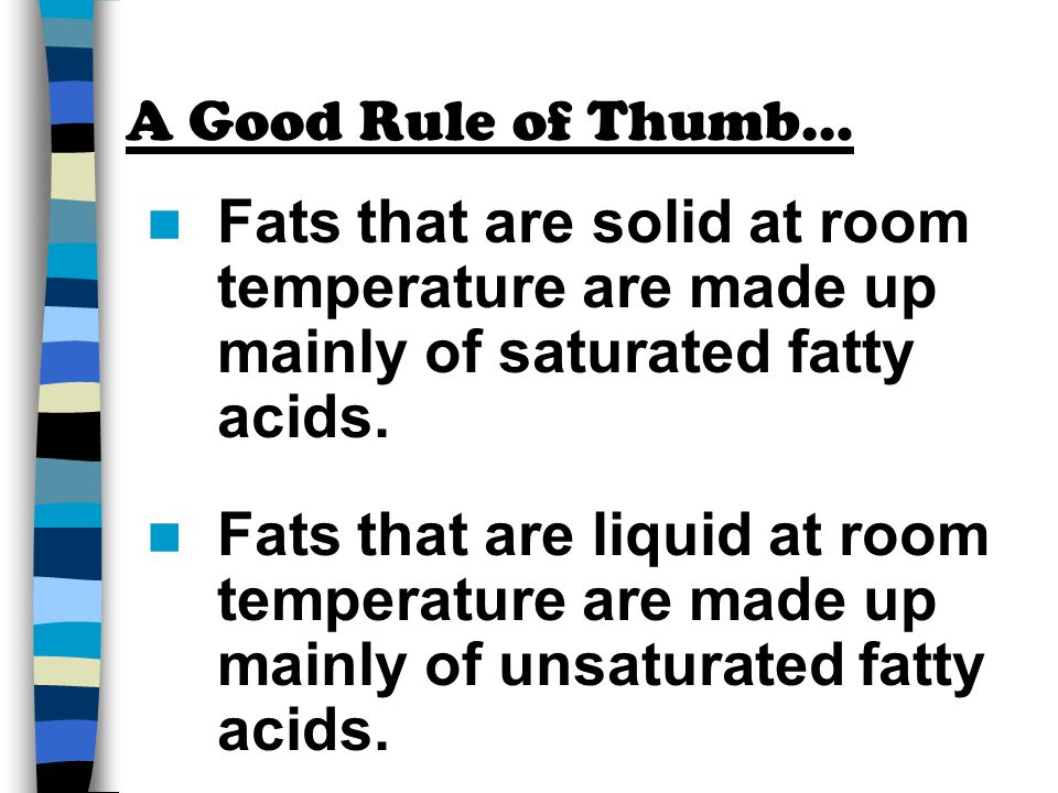 Is Linoleic Acid Solid At Room Temperature