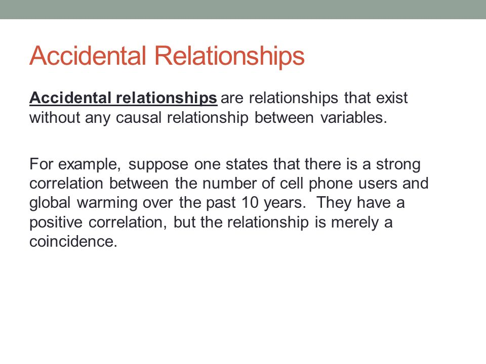 example of reverse cause and effect relationship