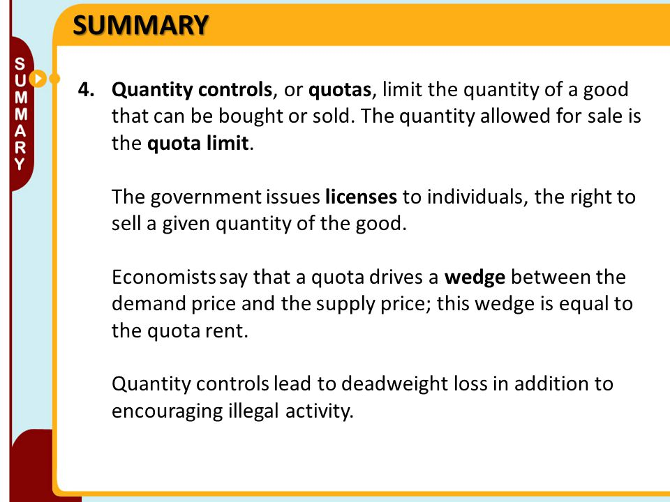 Price Controls And Quotas Meddling With Markets Ppt