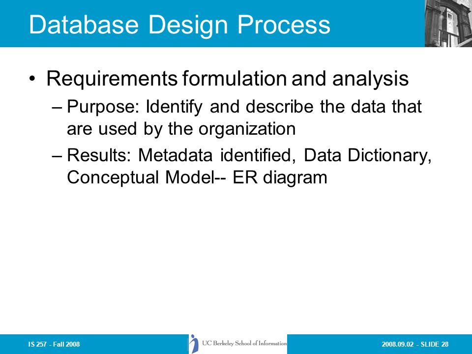 data dictionary system analysis and design