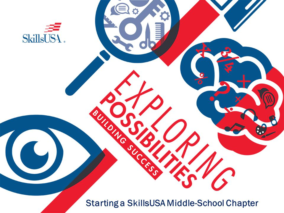 chapter of skillsusa and on