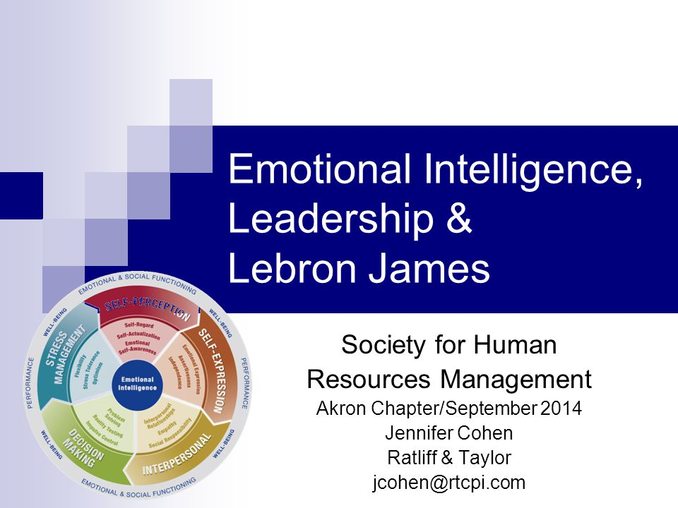 Emotional Intelligence, Leadership & Lebron James