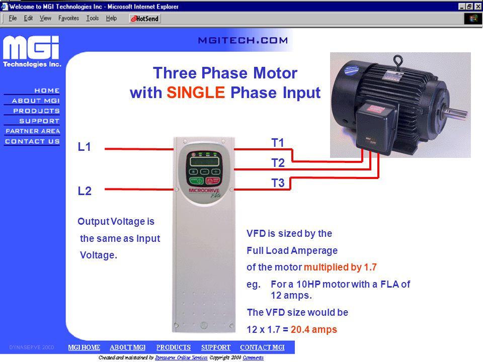 Application types variable torque constant torque ppt for 3 phase vfd single phase motor
