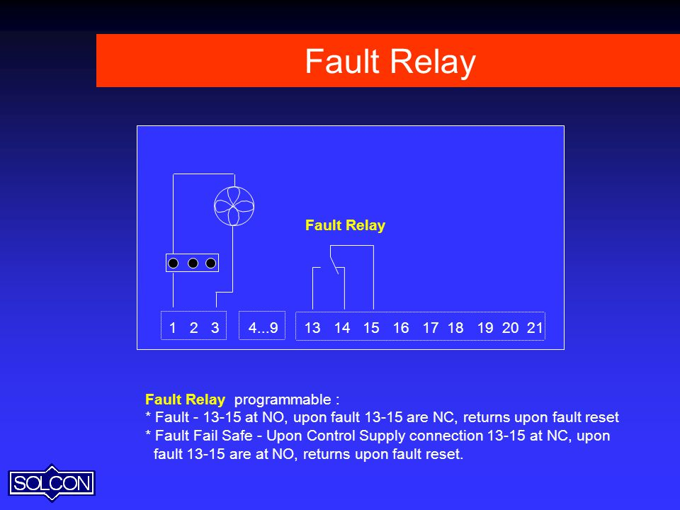 Fault Relay Fault Relay