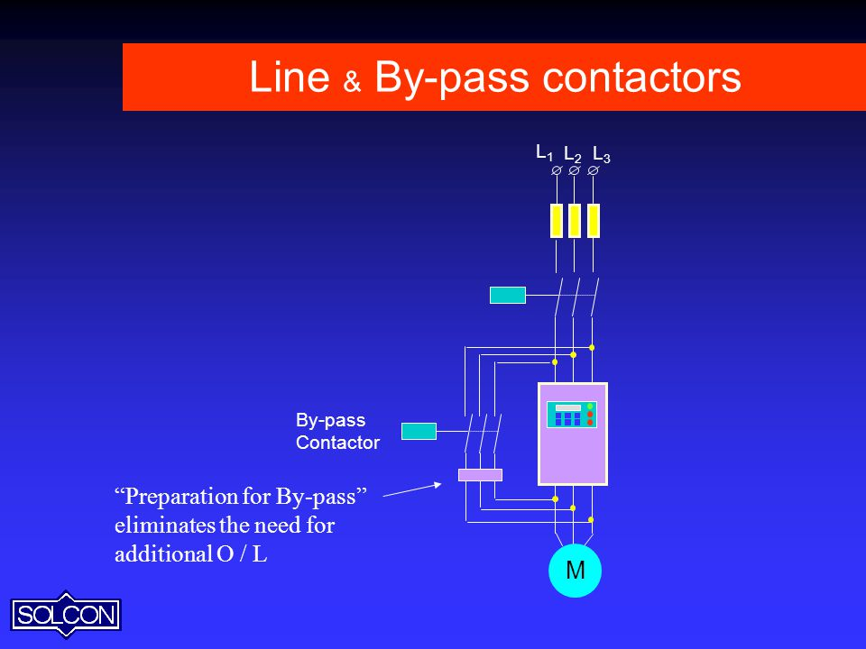 Line & By-pass contactors
