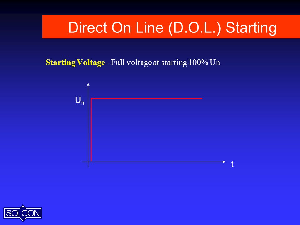 Direct On Line (D.O.L.) Starting