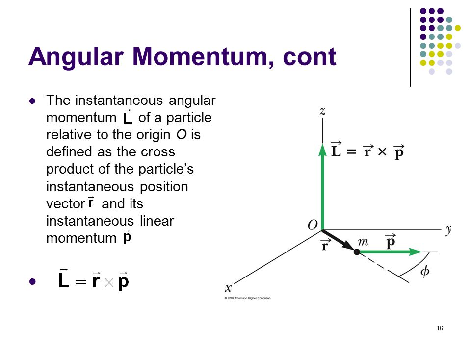 Chapter 11 angular momentum ppt download 16 angular momentum ccuart