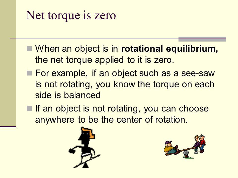 how to find net torque