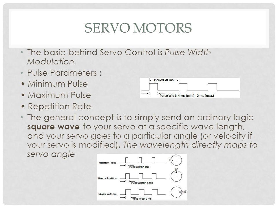 L ppt video online download for Servo motor pulse width