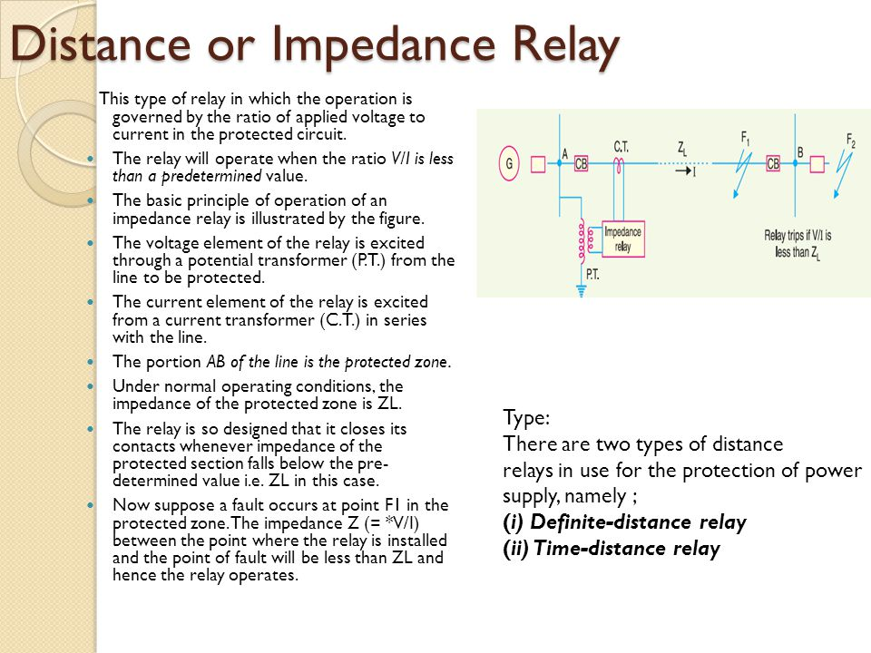 Power System Analysis Power System 1 EEE 4113 EEE Ppt Video - Basic Principle Of Relay