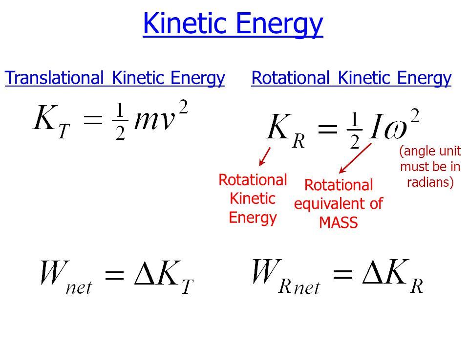 Translational Kinetic Energy Formula - Ace Energy