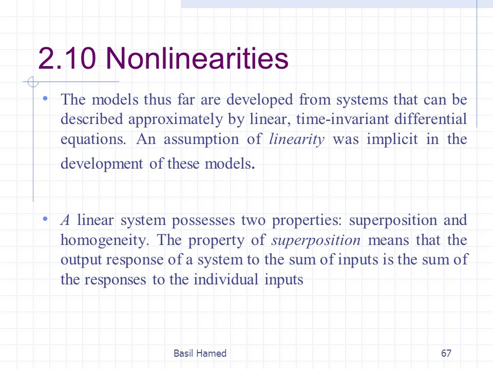2.10 Nonlinearities
