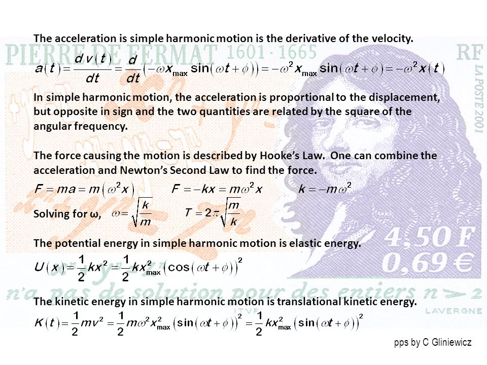 The potential energy in simple harmonic motion is elastic energy.