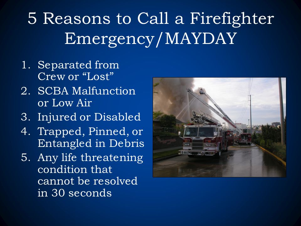 Fire Ground Survival Emergency Scba Operations Amp Mayday