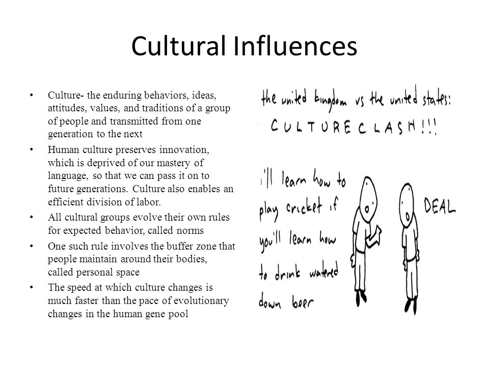 Cultural Influence On Crime