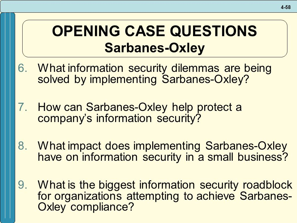 impact of sox on industry The sarbanes–oxley act of 2002 also known as the public company  accounting reform and  this is due in part to the difficulty of isolating the  impact of sox from other variables affecting the stock  the complaint argues  that because the pcaob has regulatory powers over the accounting industry, its  officers should be.