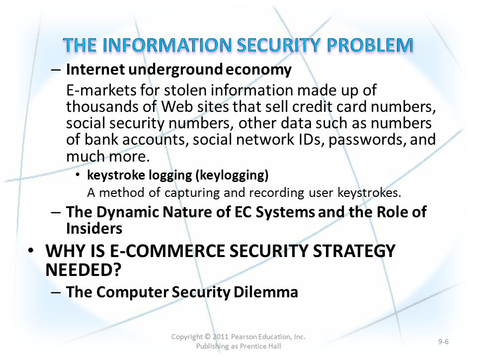 e commerce issues of security and privacy Security issues in m  {commerce creates new security and privacy challenges  security issues in m{commerce: a usage{based taxonomy 267.