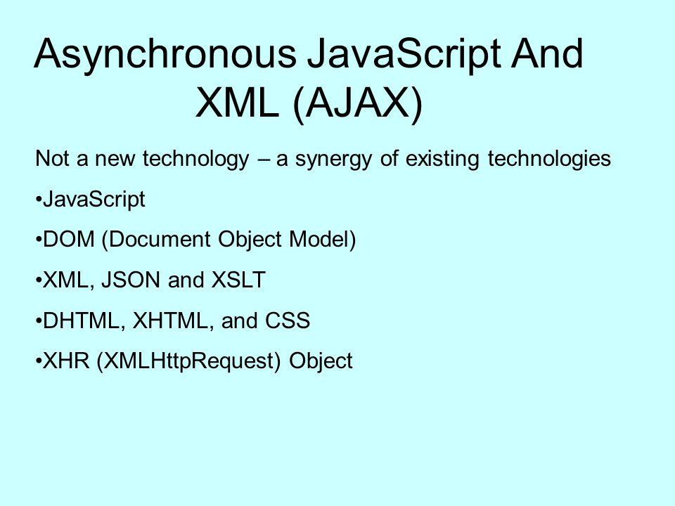 """asynchronous javascript and xml ajax 8 universidad de deusto    eside presentación en ajax: xhtml y css xhtml define la estructura de un documento css proporciona el """"look and."""