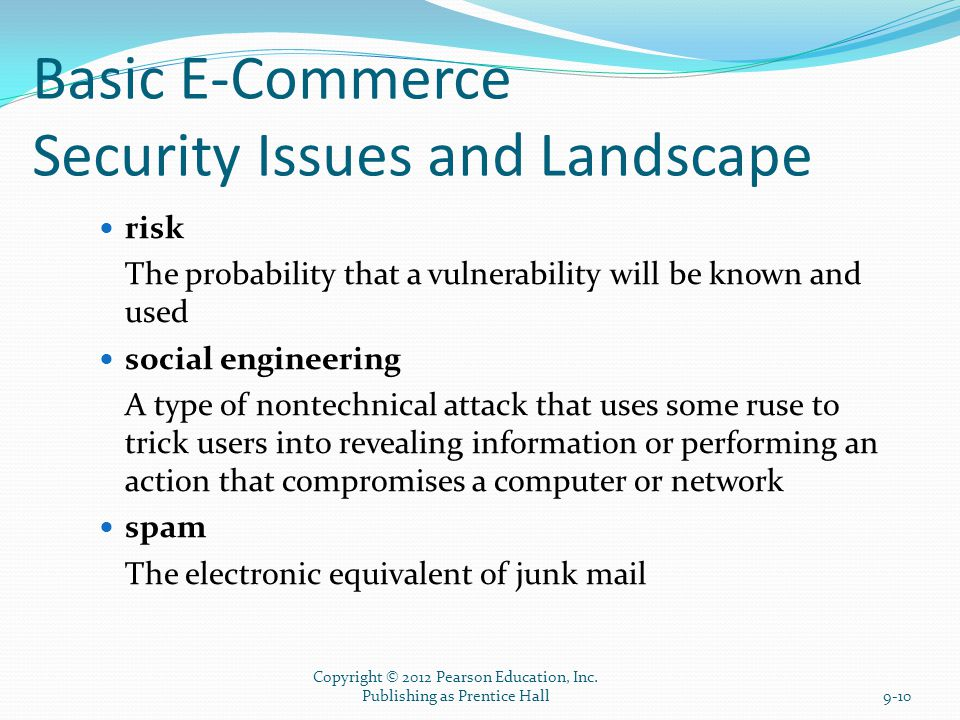the issue of network security of electronic commerce M-commerce-issues and challenges w hile electronic commerce of the developed network ecthnologies and service appli-cations.