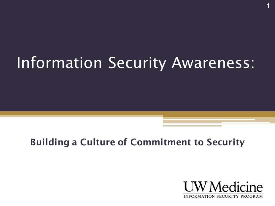 information security awareness presentation Establishing and maintaining information-security awareness through a security awareness program is vital to an organization's progress and success.
