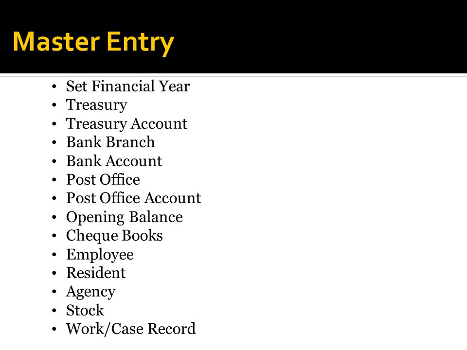 Panchayati raj institutions accounting software ppt - Open a post office bank account online ...