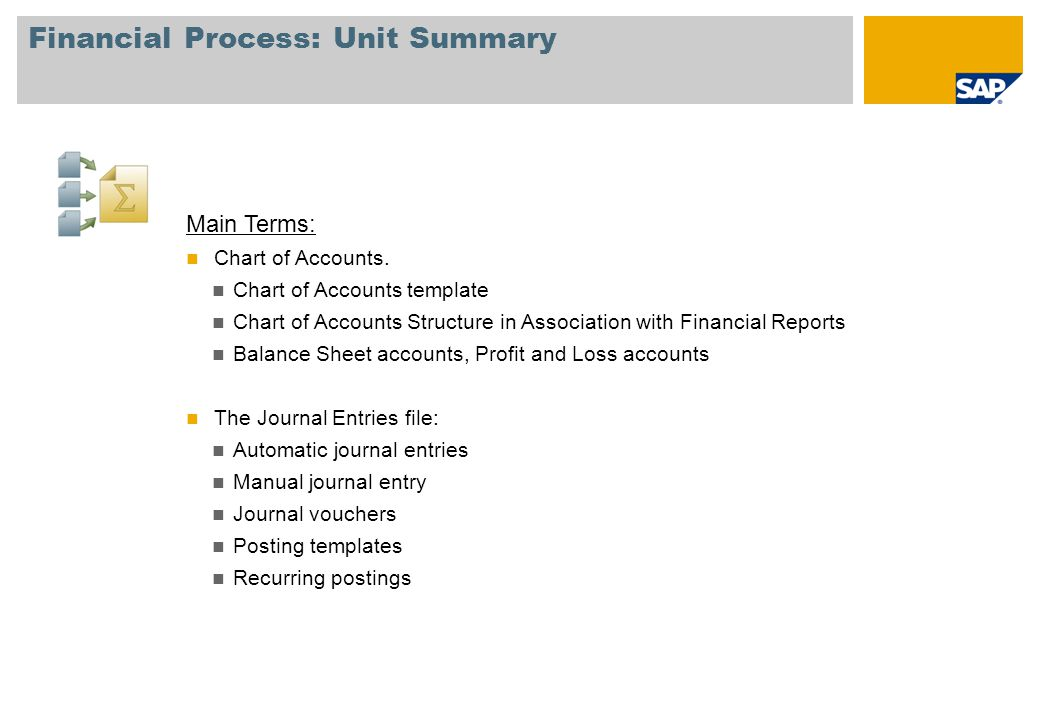 Unit  Financial Process  Ppt Download