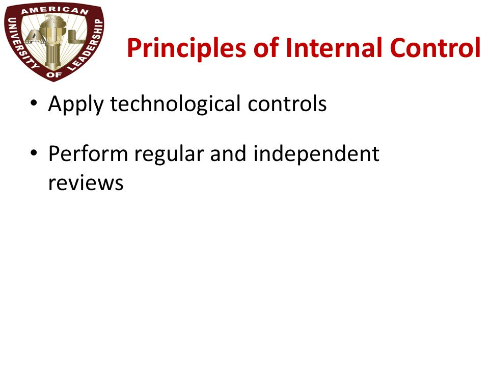 identify internal control principles Answer to identifying internal control principles in cash receipt processeslocker rentals corp (lrc) operates locker rental.