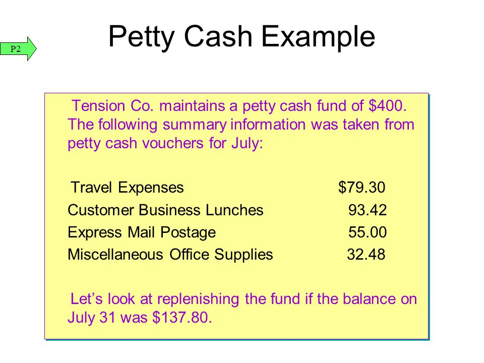 Accounting for Cash and Internal Controls ppt download – Example of Petty Cash Voucher