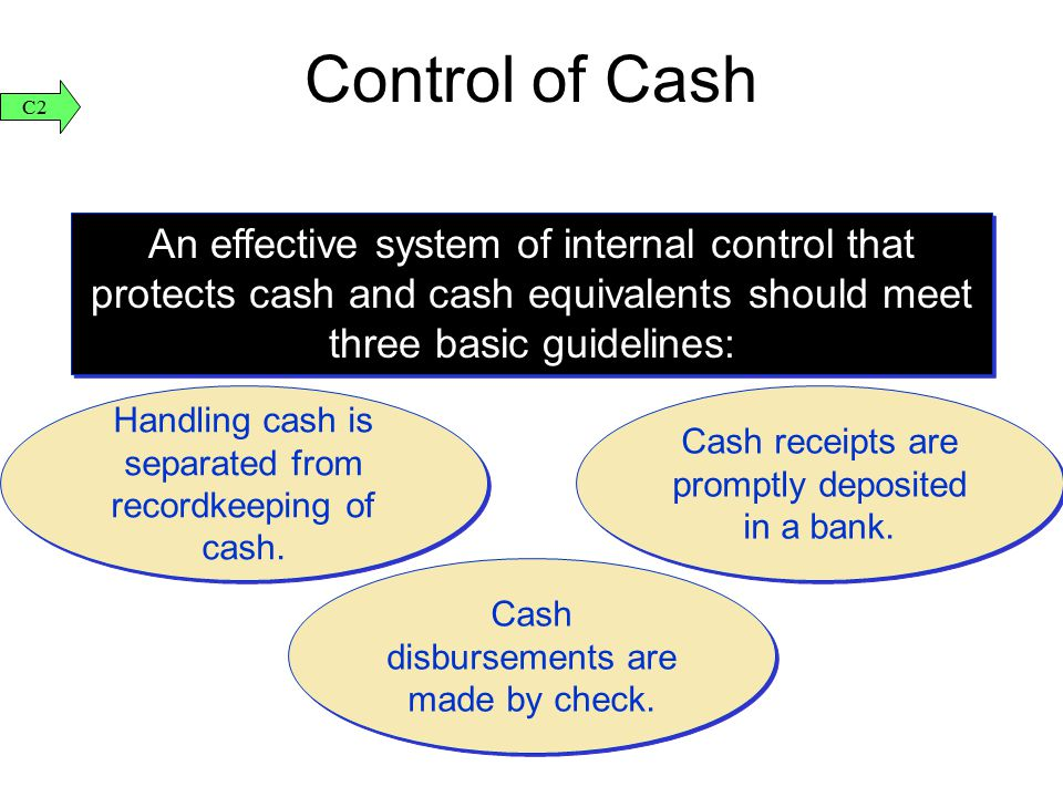 the internal accounting control system of