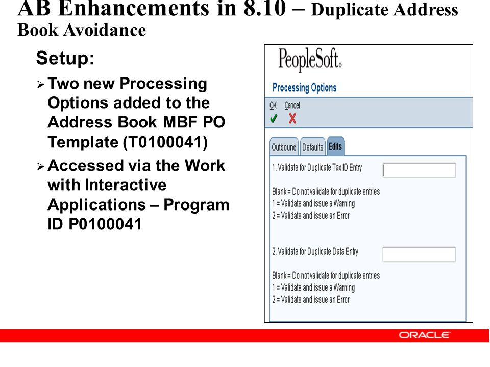 AB Enhancements in 8.10 – Duplicate Address Book Avoidance