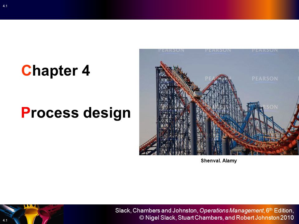 Chapter 4 Process design Shenval. Alamy