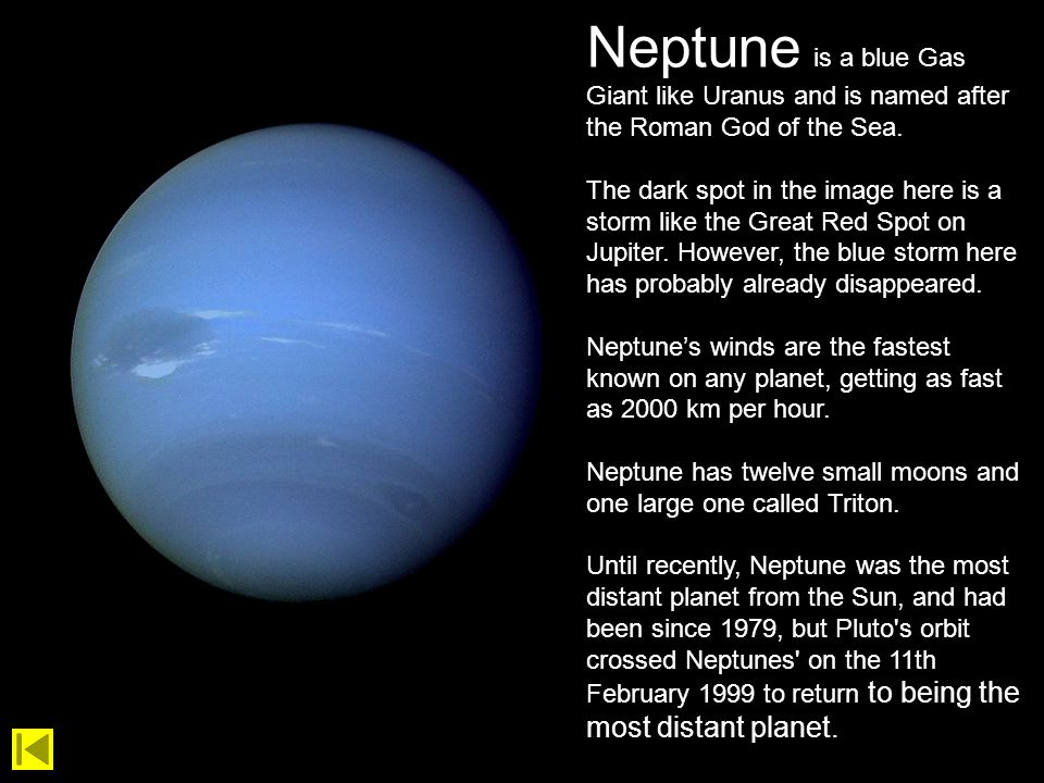 what are the gas planets called - photo #45