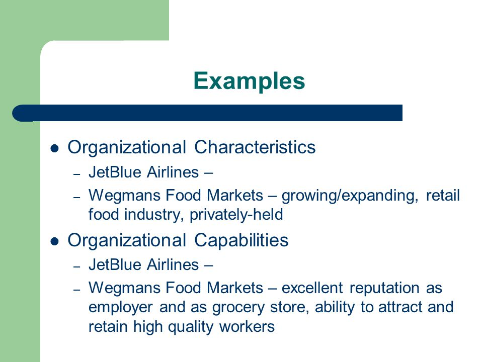 jetblue resources and capabilities Business management analysis - jet blue strategic management  jetblue has the capabilities and resources to continue its growth and profitability .