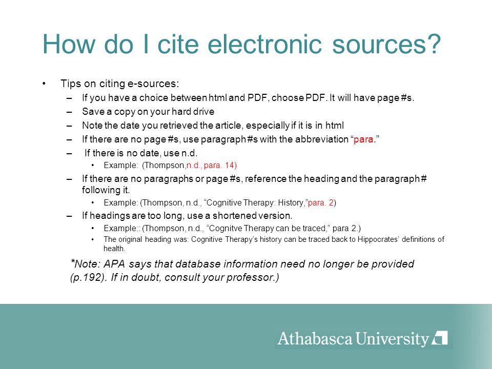 how to cite a pdf