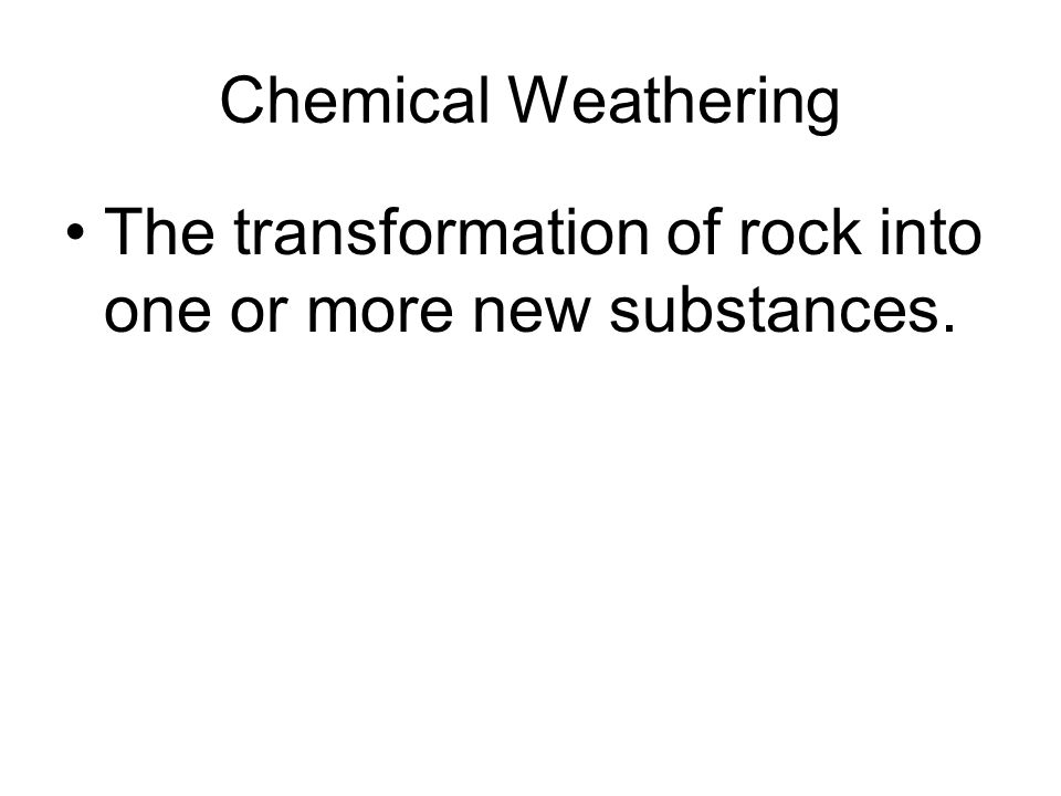 Mechanical Physical Weathering Ppt Video Online Download