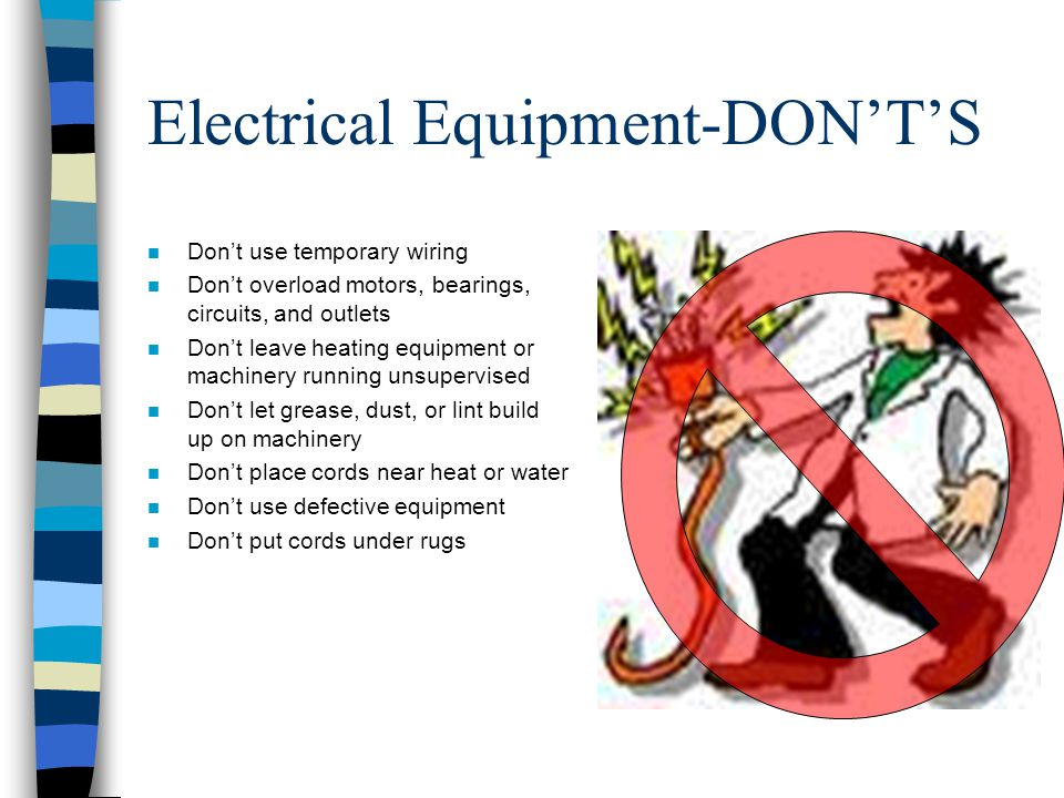Workplace fire safety ppt download for Electric motor supply near me