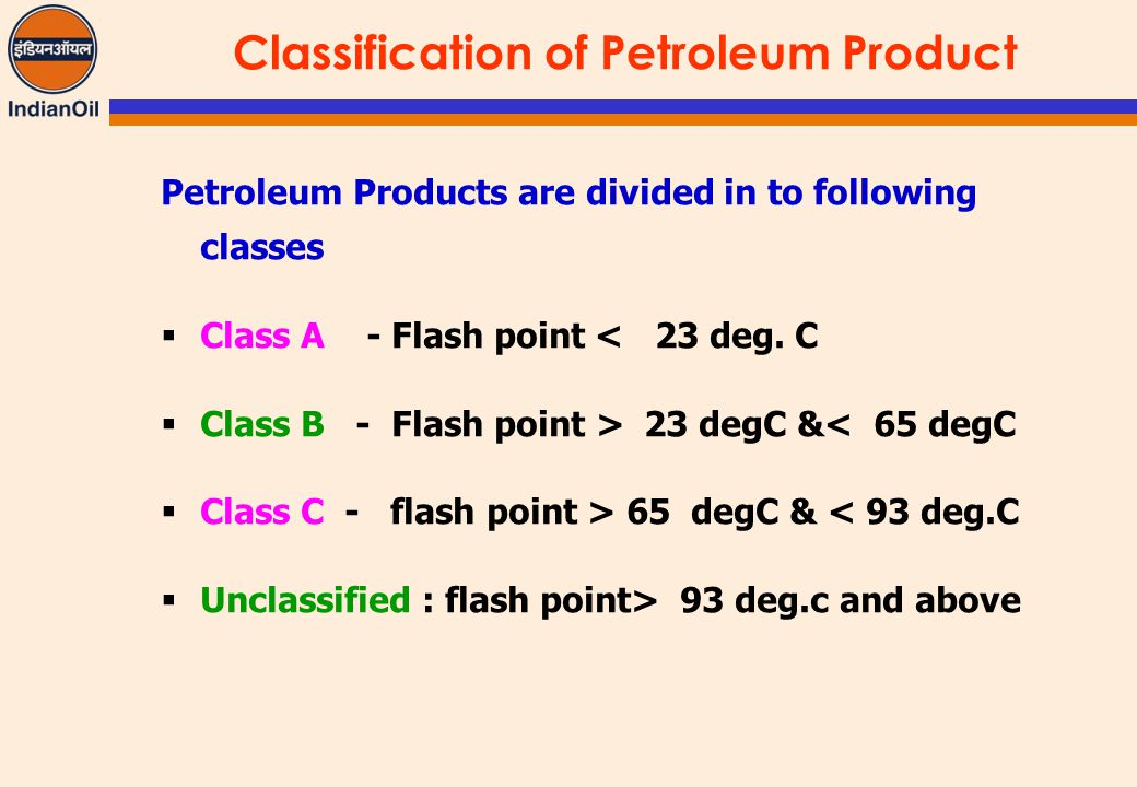what are for oil production classification And potential toxicity learn about the classifications of crude oil  heavy  crude requires extra refining to produce more valuable and in-demand products.