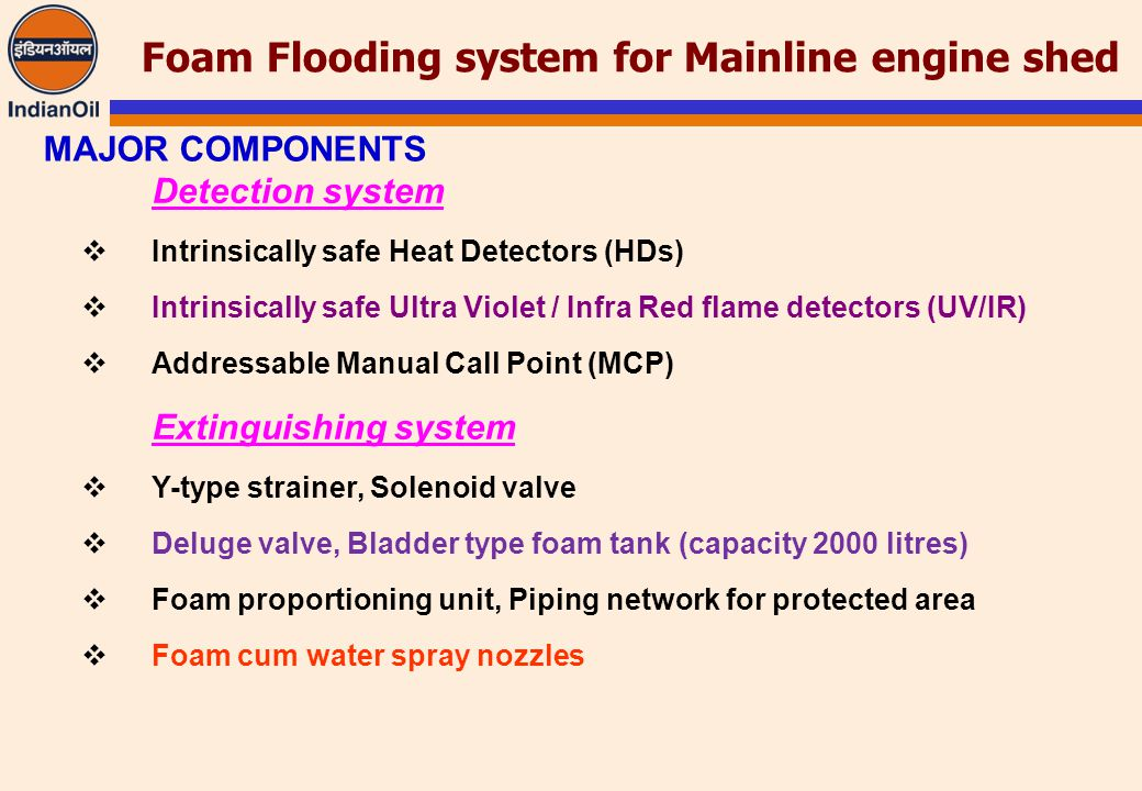 foam bladder tank operation manual