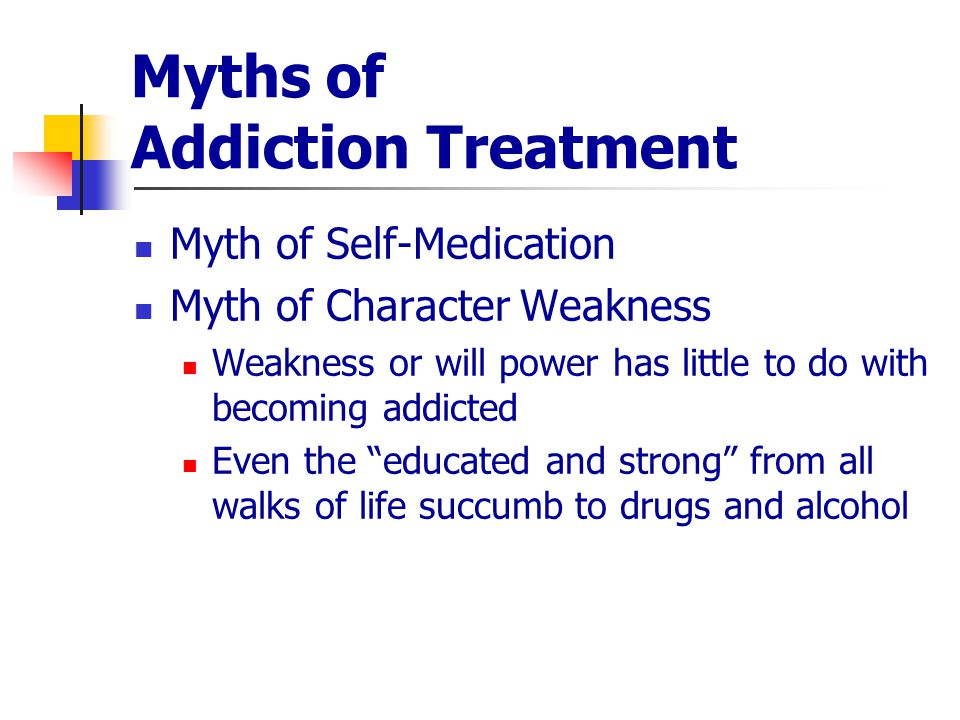 Myths About Drug Treatment