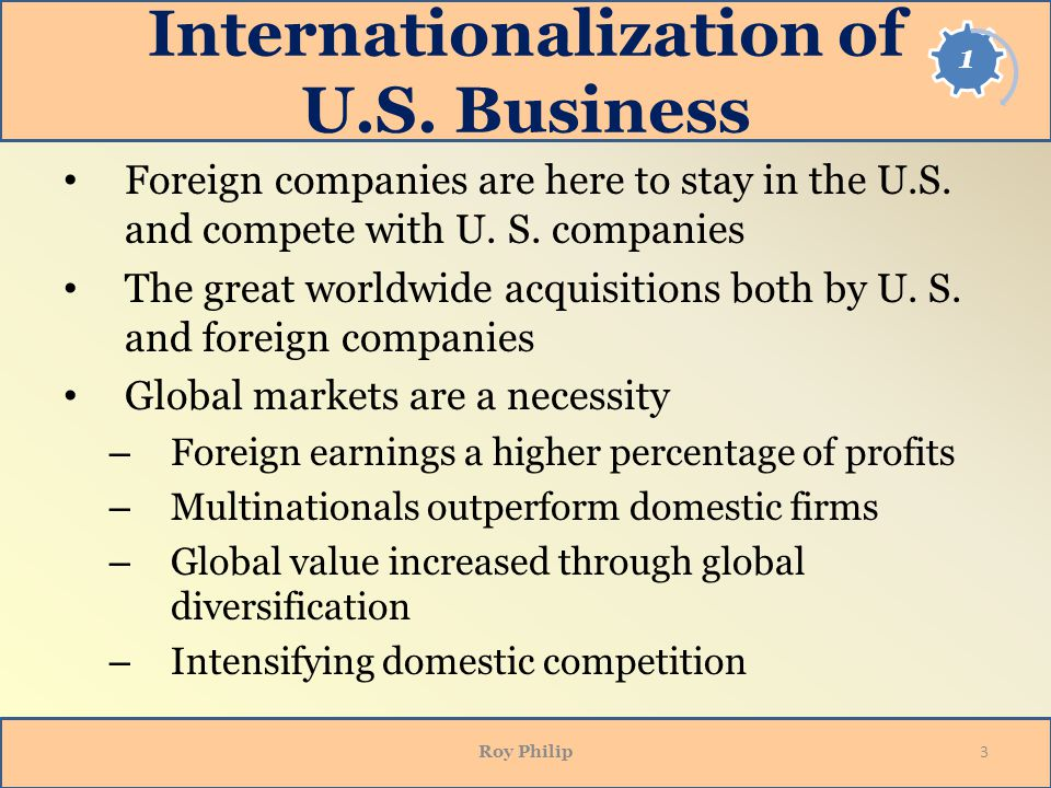 Internationalizing Your Business: The Execution