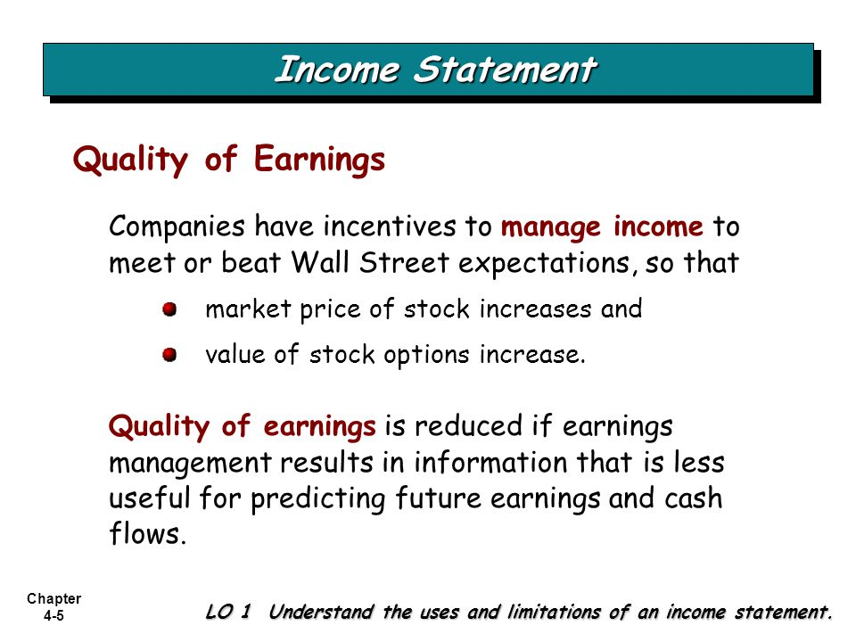 understanding the meaning of manage earnings by corporations Support stock price motivations for earnings management and  how well do  various academic theories explain earnings management and.